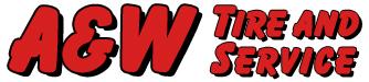 A&W Tire & Service Logo